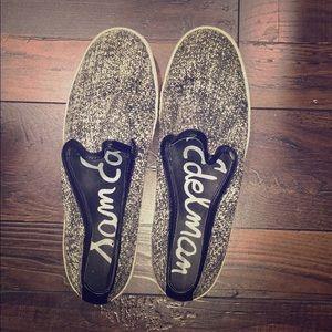 Sam Edelman Black and White Sneakers